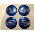 Subaru Wheel Centre Cap Set